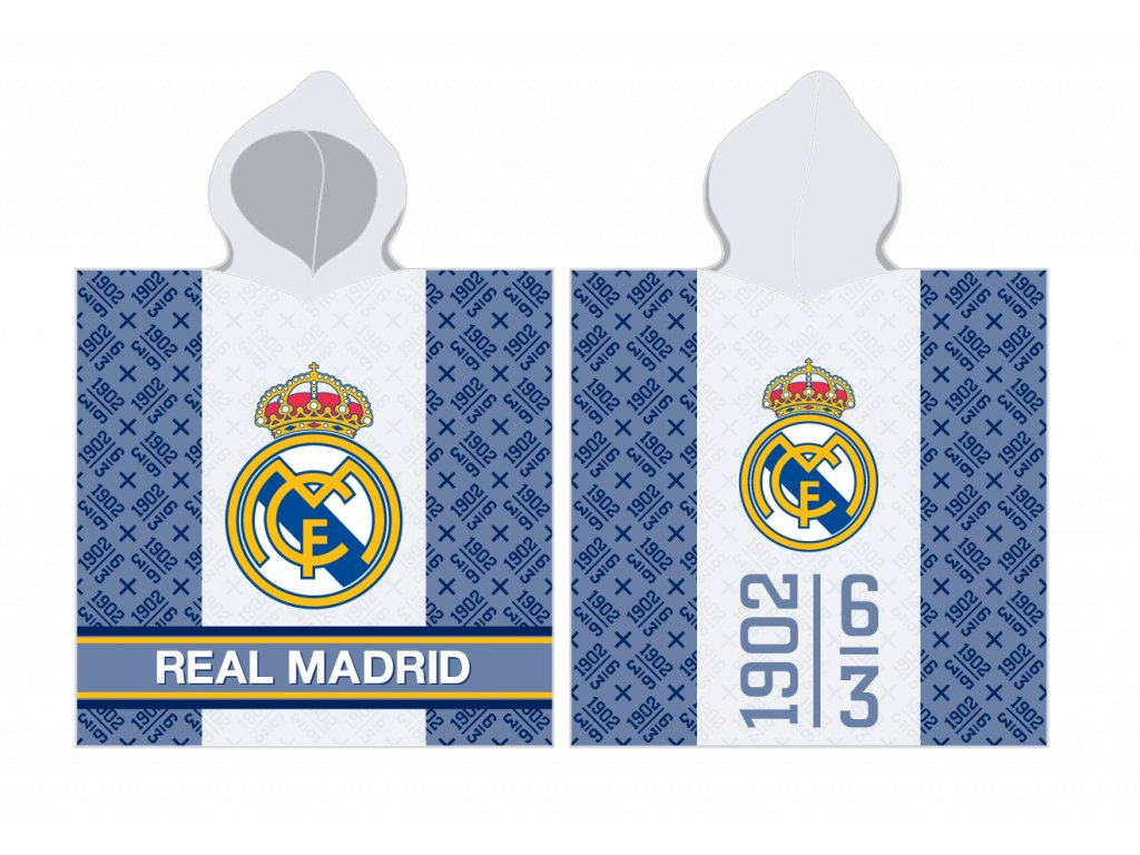 DĚTSKÉ PONČO REAL MADRID 172067