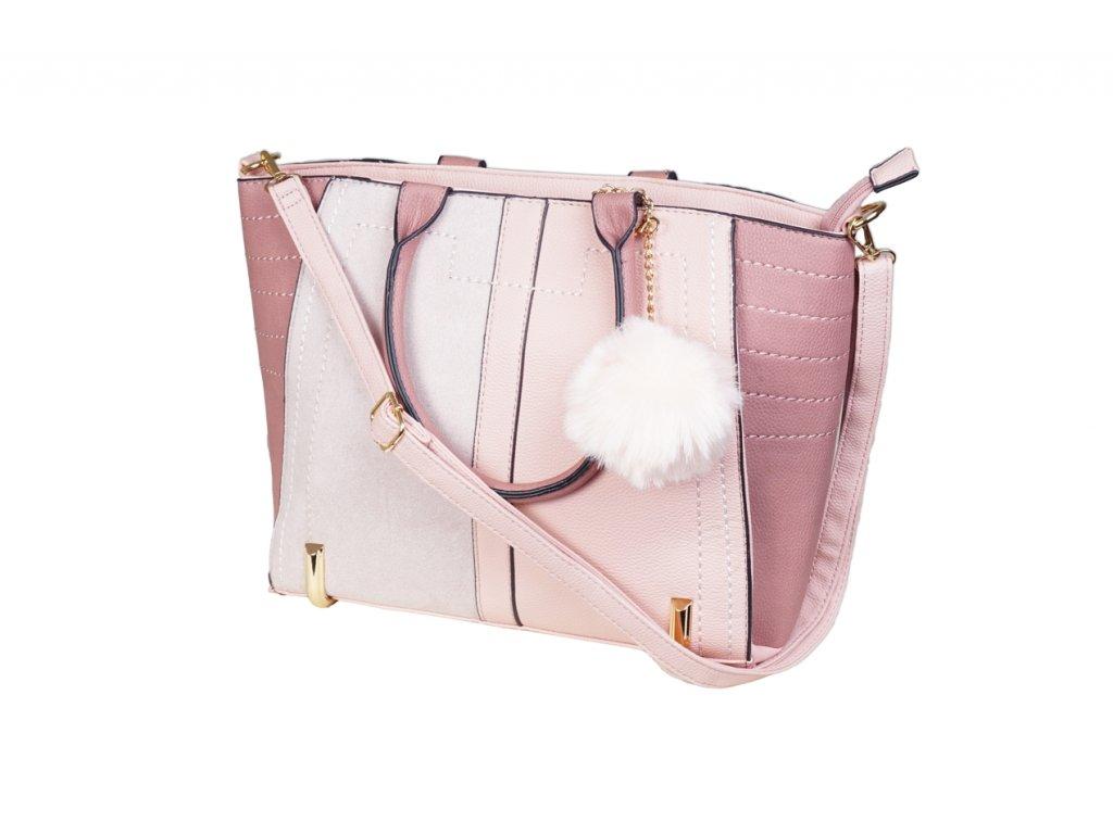Luxusní kabelka JBFB 244 RŮŽOVÁ