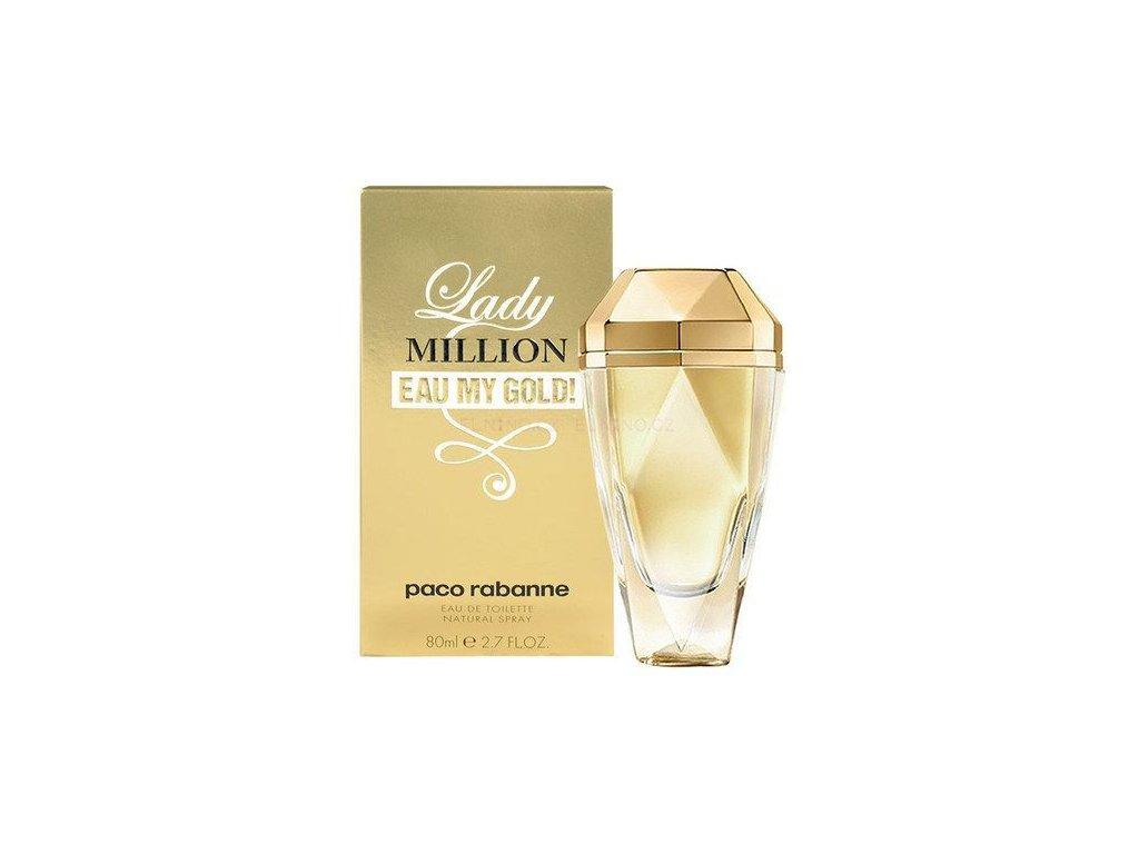 Paco Rabanne Lady Million parfémovaná voda dámská 80 ml