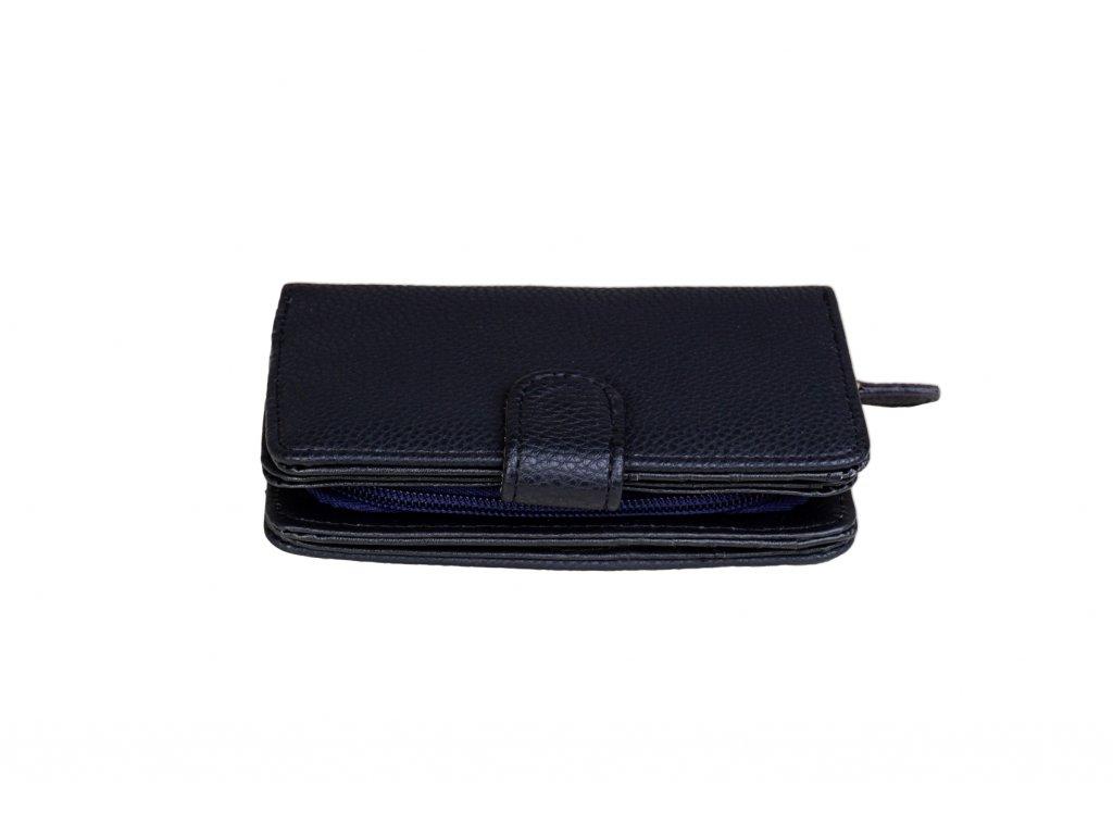 Dámská peněženka JBPS 137 ČERNO/MODRÁ