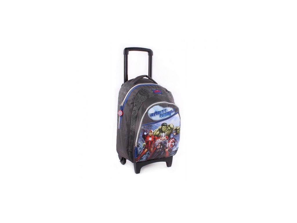 Dětský batoh na kolečkách Avengers Invicible