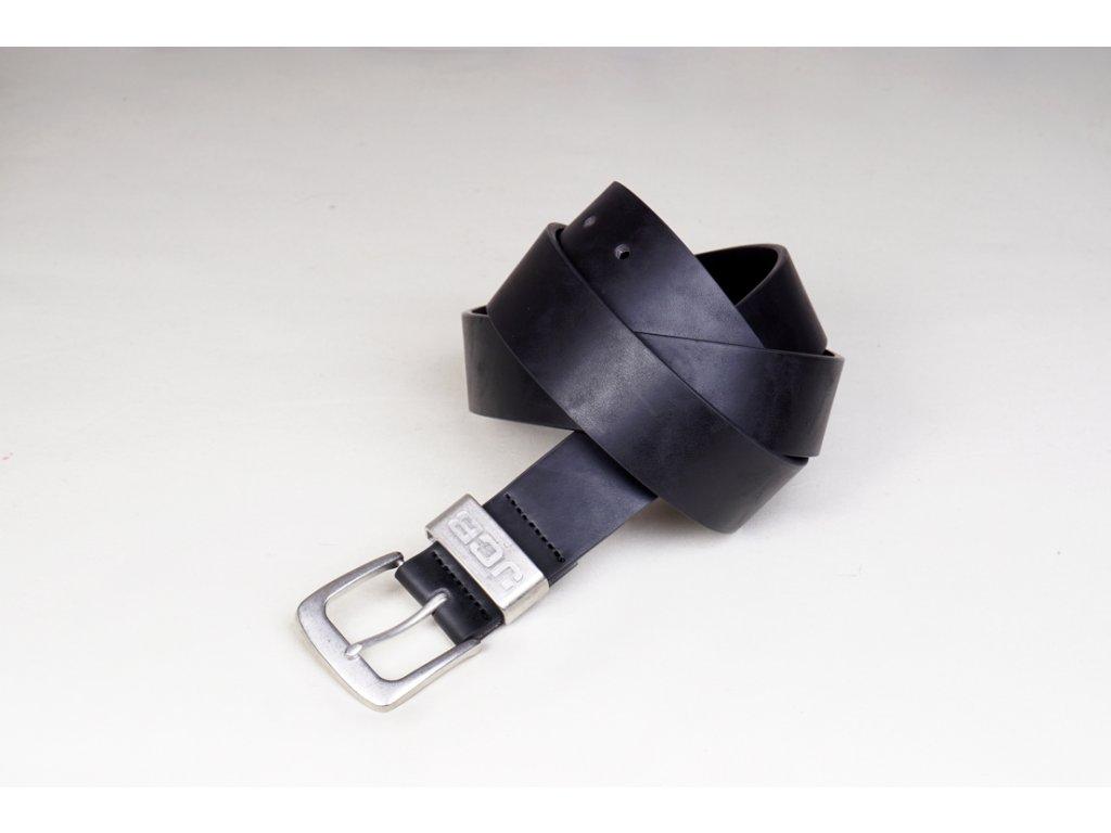 Pánský kožený opasek JCB 001 černý - perfektní dárek