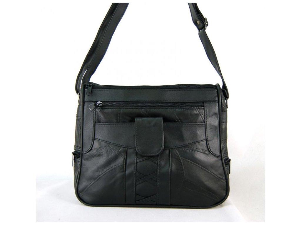 Dámská kožená kabelka JBLHB 29 ČERNÁ