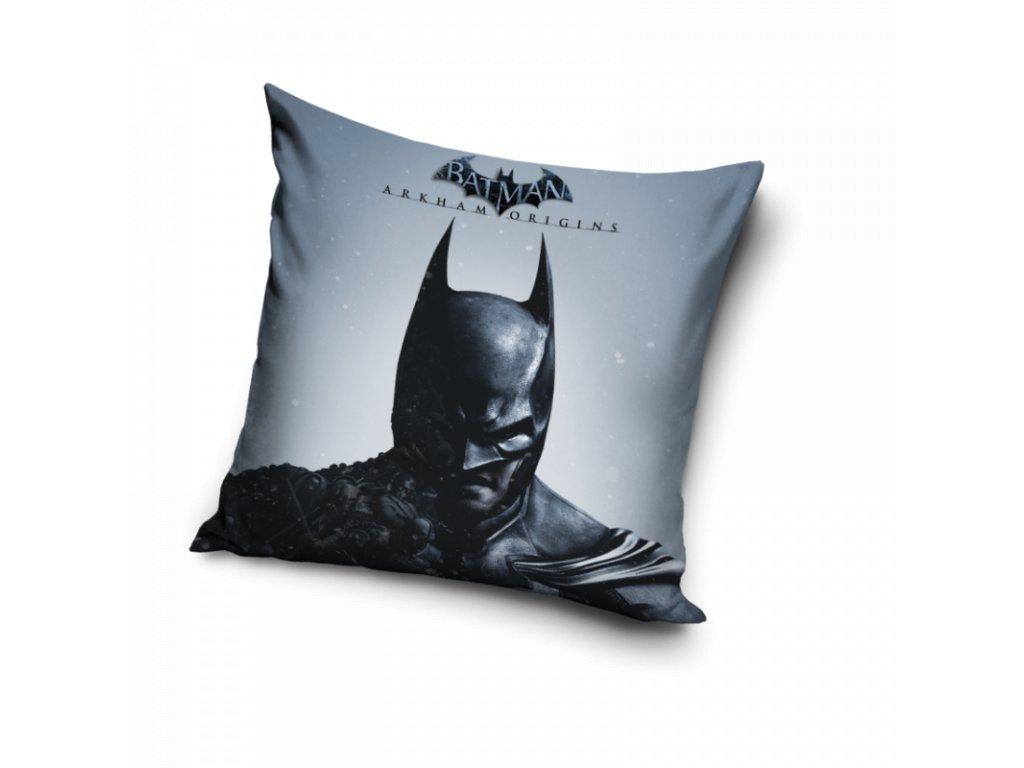 Povlak na polštářek Batman Arkham Origins 40x40 cm