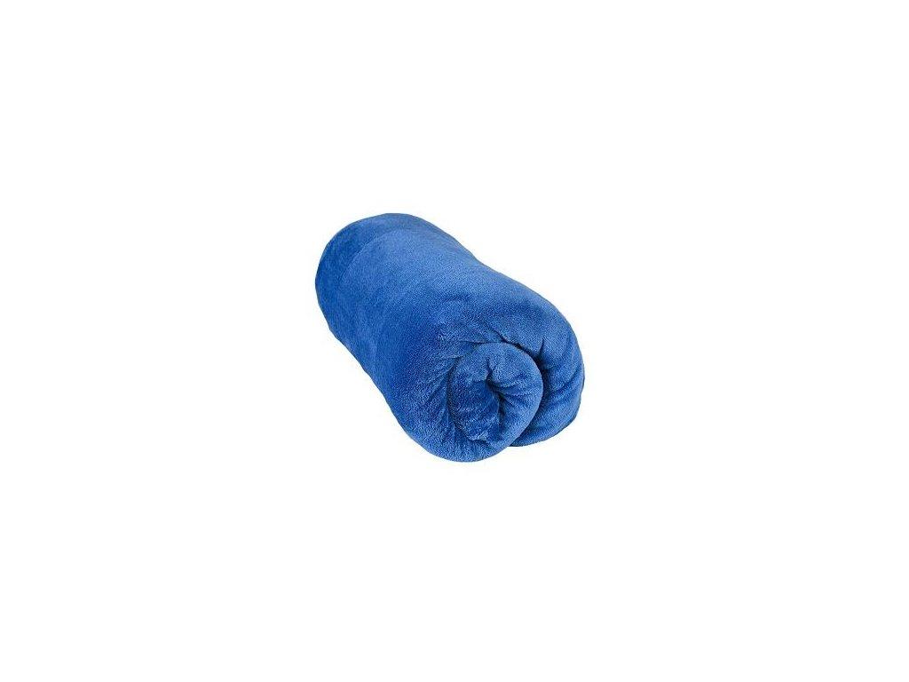 Aaryans deka mikrovlákno 220 x200cm modrá