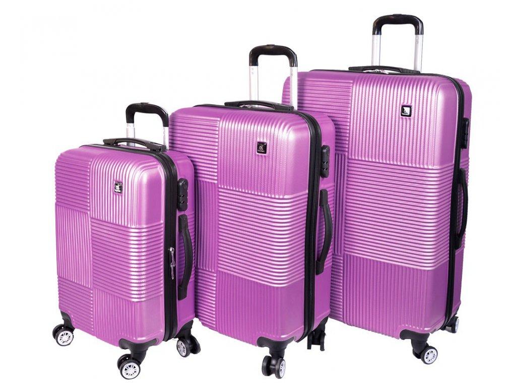SADA 3 KUFRŮ 6089 fialová -  LÉTO 2020