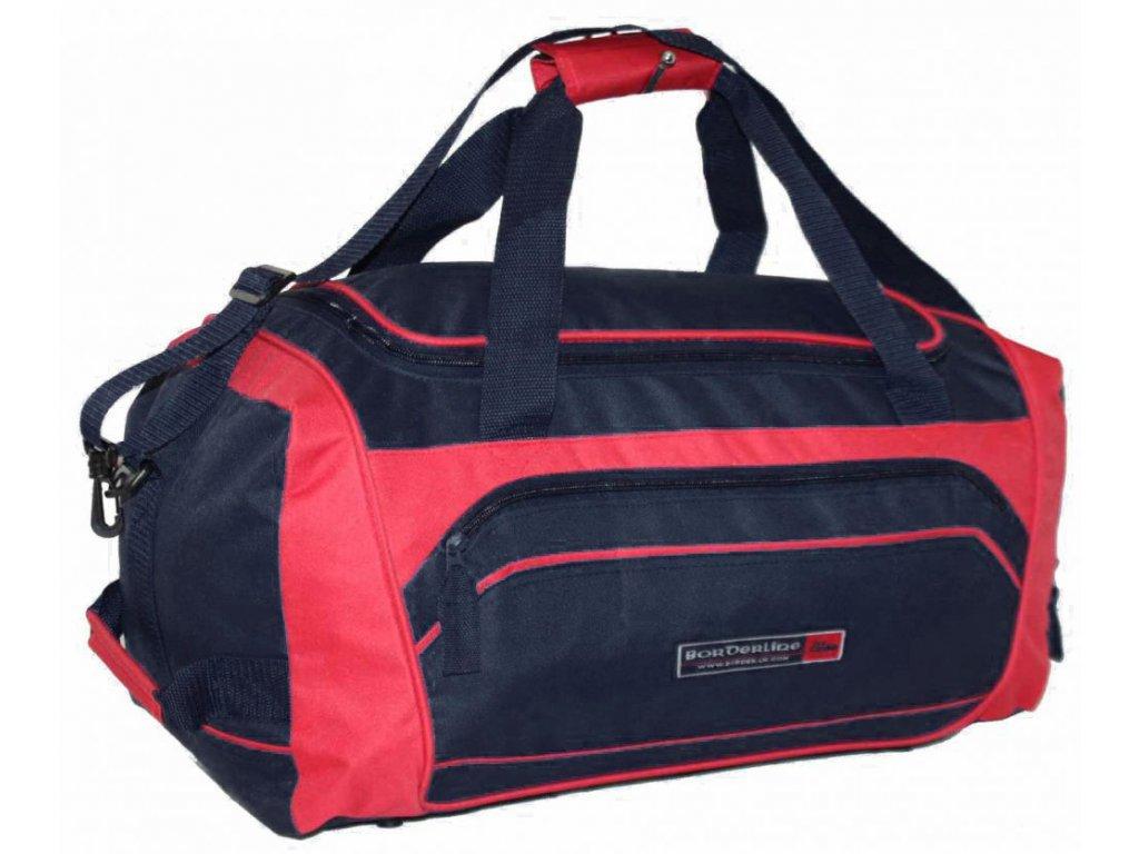 Sportovní taška JBSB 808 ČERNO/ČERVENÁ