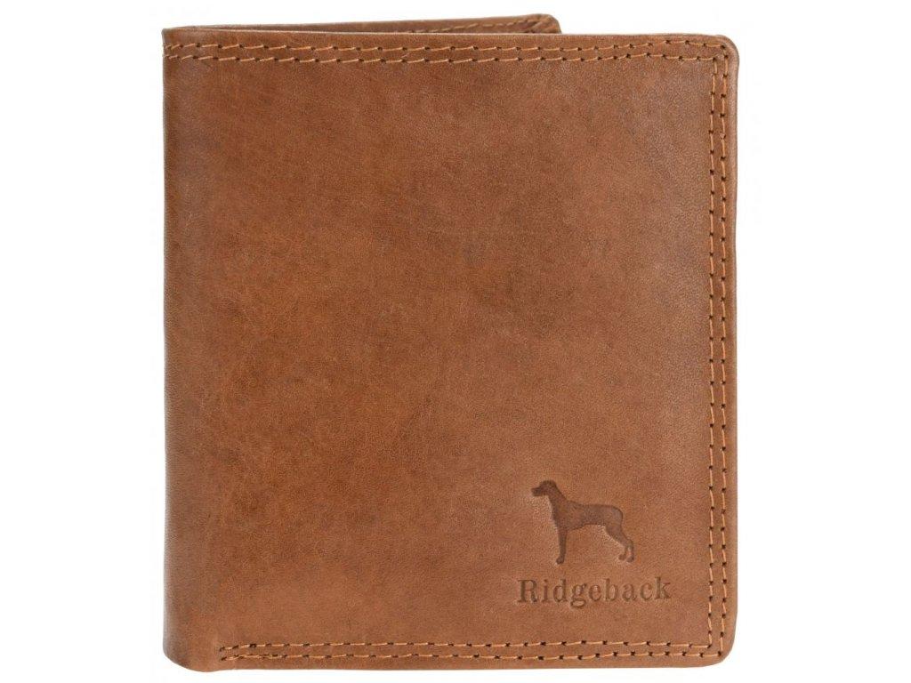 Kožená pánská peněženka JBNC 37 MN TAN, s RFID ochranou