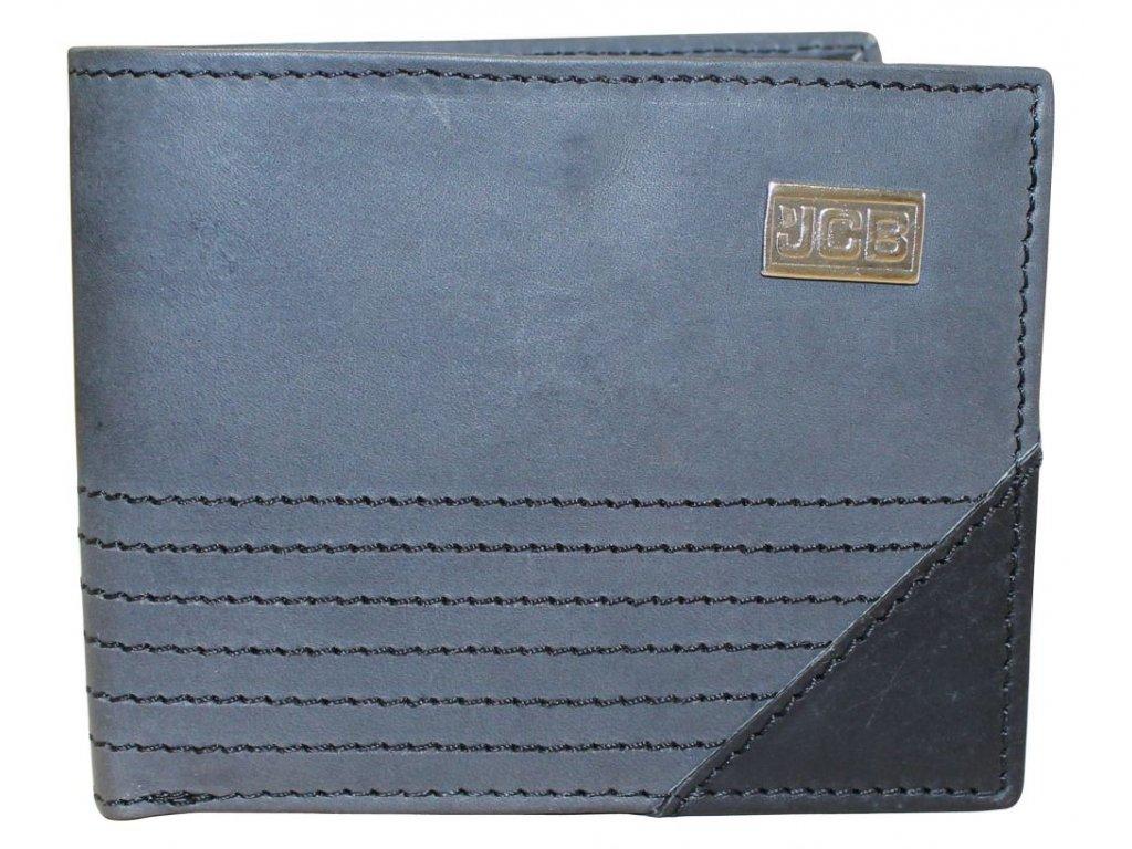 Kožená peněženka s ochranou RFID - JCBNC 58 šedá