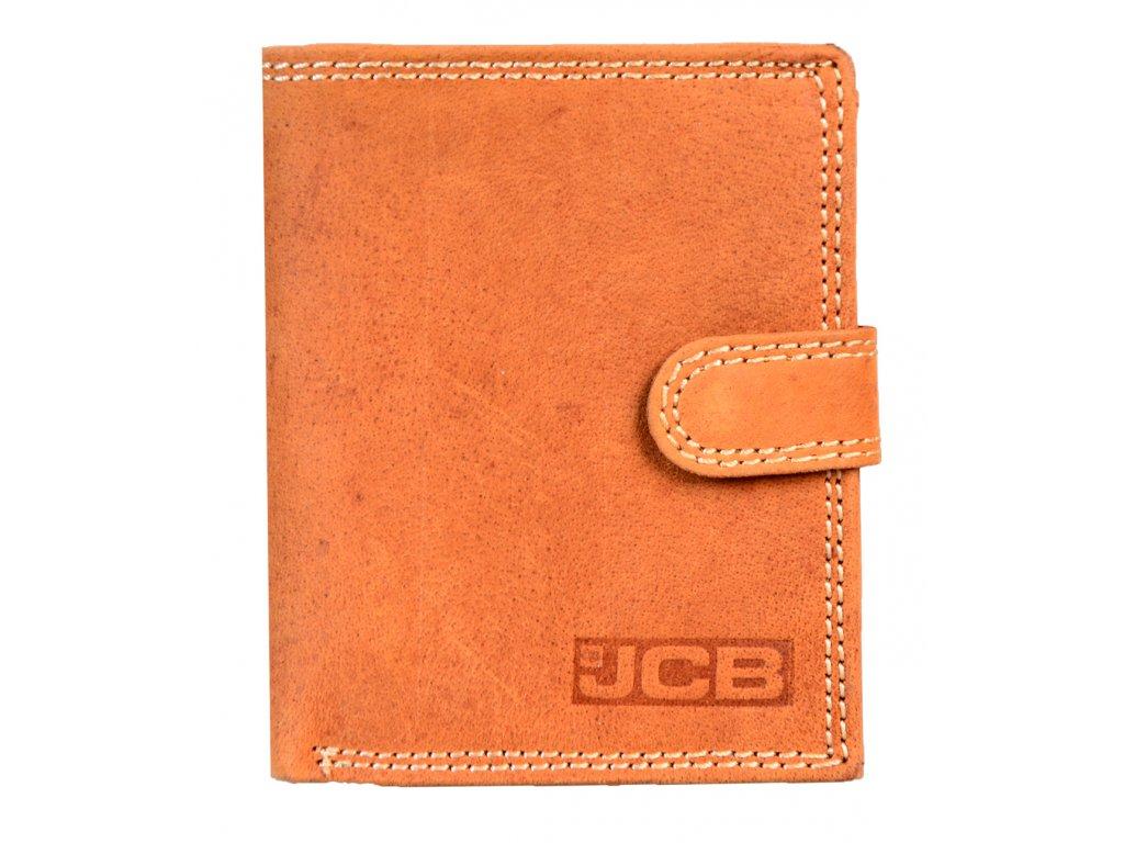 Kožená peněženka s ochranou RFID - JCBNC 36EH- TAN