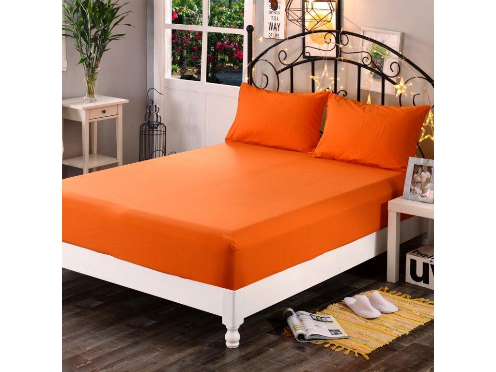 Aaryans Froté rostěradlo oranžové