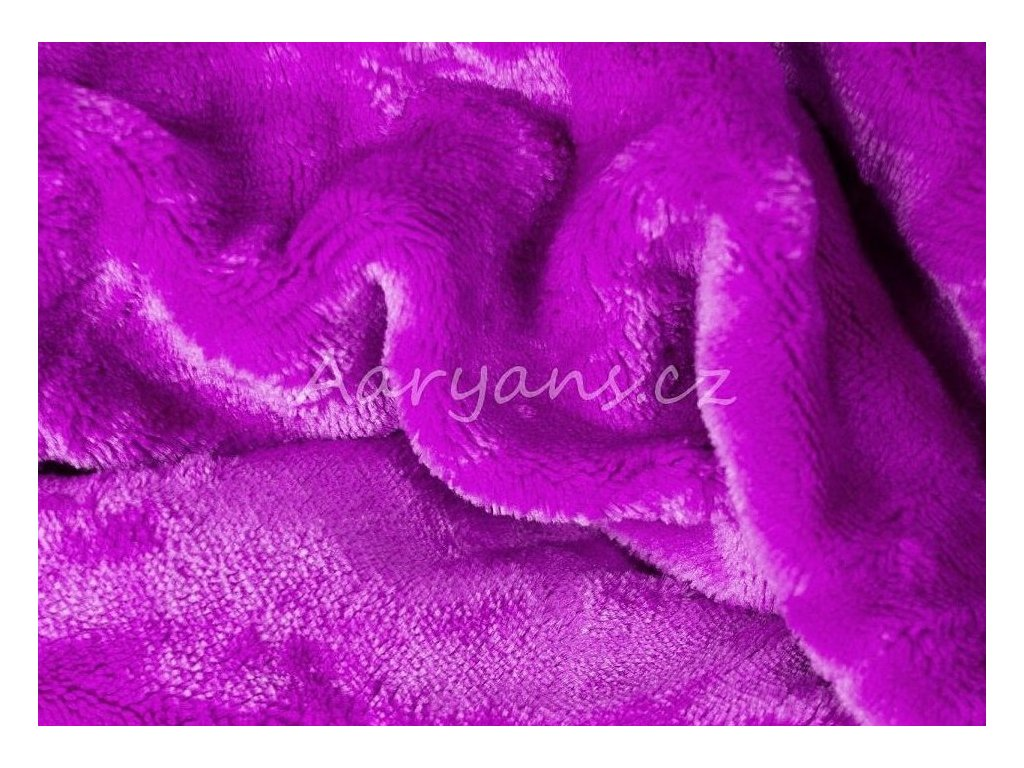 Aaryans Prostěradlo mikroplyš /mikroflanel fialové
