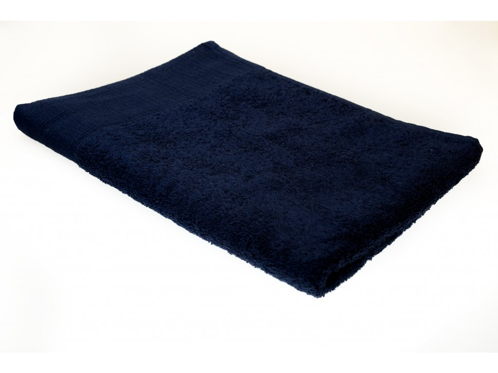 Froté ručník AQUA , 50x100 cm, tmavěmodrý