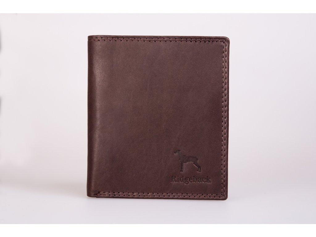 Pánská kožená peněženka JBNC37, hnědá
