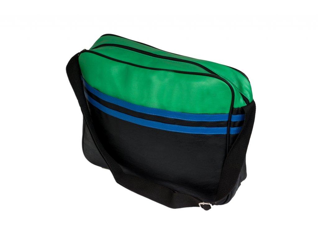 Taška přes rameno JBCB 31 zelená/černá