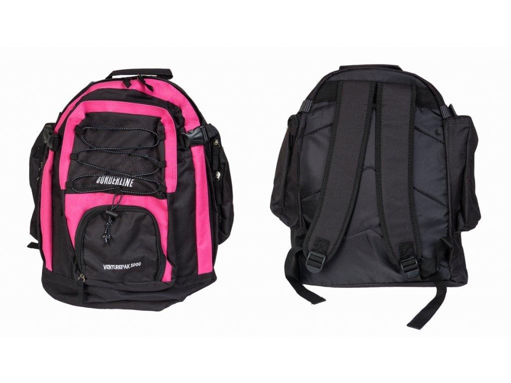 Batoh JBBP 595450 černo/růžový