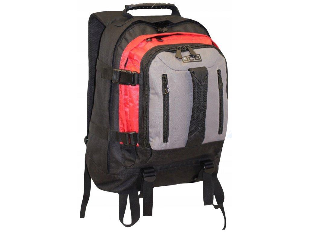Kvalitní batoh pro náročné JCBBP 18 ČERVENÝ