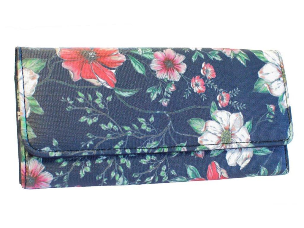 Dámská peněženka JBPS 171 Floral MODRÁ