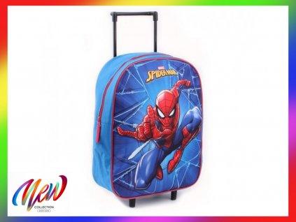 Dětský kufřík na kolečkách Spiderman Save The City
