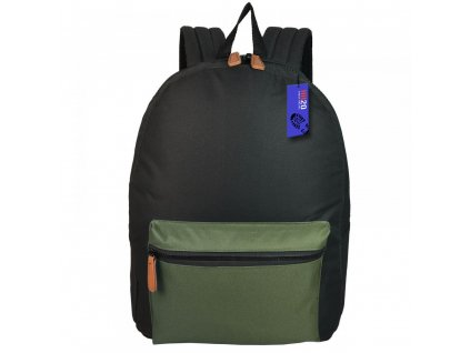 Modní a praktický batoh JBBP 270 ČERNO/KHAKI