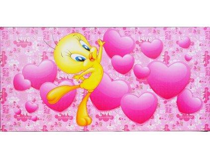 Obraz Looney Tunes 29586 RŮŽOVÝ