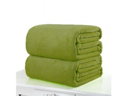Aaryans deka z mikroflanelu 220x200cm zelená