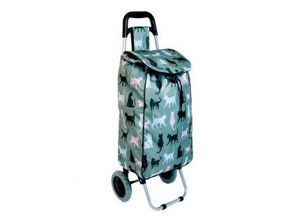 Nákupní taška na kolečkách JBST 06 KOČKA