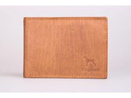 Pánská peněženka JBNC 40 TAN, přírodní hnědá