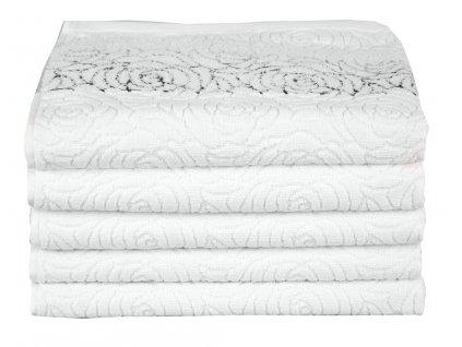 Froté ručník ROSSO BÍLÝ, 50x90 cm