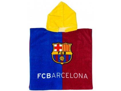 Dětské pončo s motivem FC BARCELONA BA09001