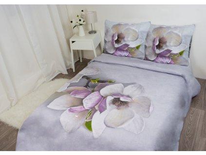 Povlečení FLORI 3D WZ.001 Orchidej 200x220/70x80