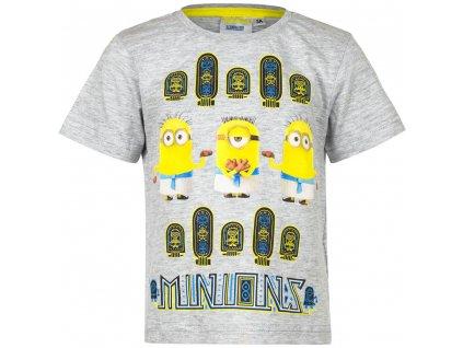 Dětské bavlněné tričko MIMONI EP 1578 - vel. 104 cm - ŠEDÉ