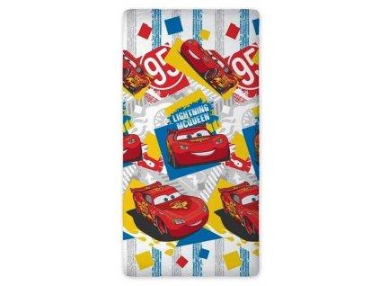 Dětské prostěradlo (plachta) CARS 01 160x200 cm