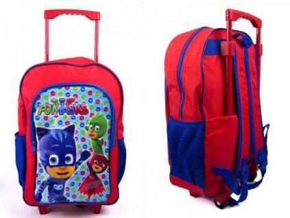 Dětský batůžek/kufřík na kolečkách PJMASKS 1019HV-7432
