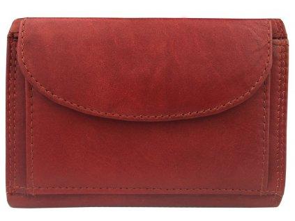 Pánská kožená peněženka JBNC 46 MN, cihlově červená
