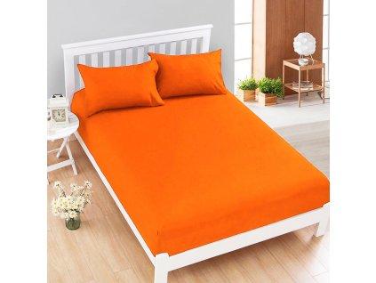 Aaryans Jersey prostěradlo oranžové