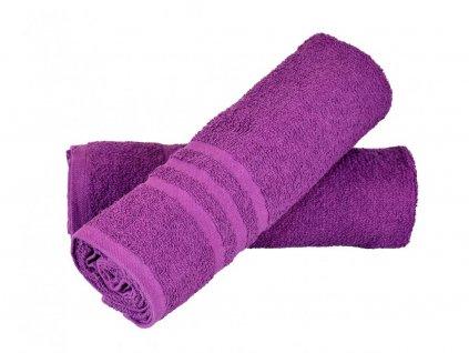 Ručník Basic - fialový