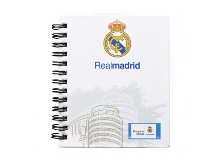 MINI NOTES REAL MADRID 10X12 CM