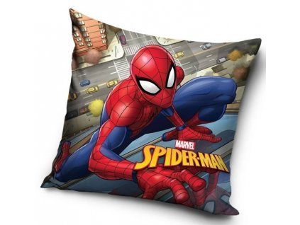 Povlak na polštářek SPIDER-MAN nad Městem
