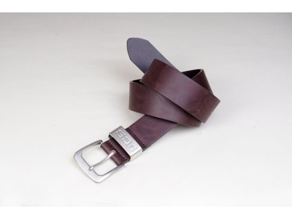 Pánský kožený opasek JCB 001 hnědý - perfektní dárek