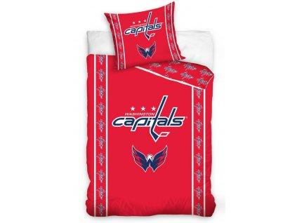 Hokejové povlečení NHL Washington Capitals Stripes
