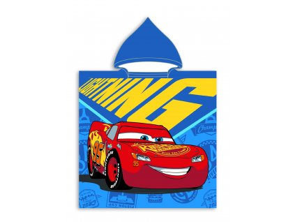 Faro Dětské pončo s motivem CARS 001