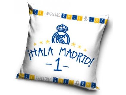 Polštář REAL MADRID FC UNO 40x40 cm