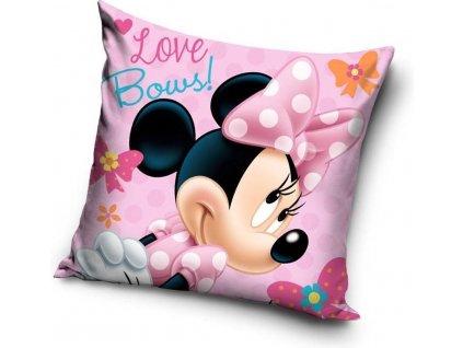 Povlak na polštářek Minnie Love Bows 40x40 cm