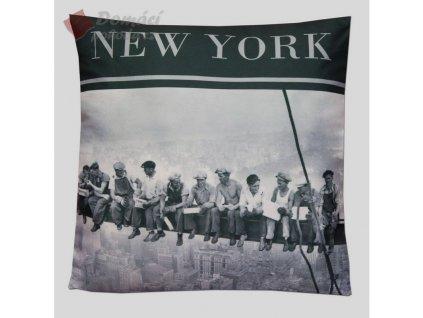 Polštář NEW YORK STEELWORKERS