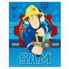 Fleecová deka Požárník Sam 001 120x150 cm