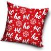 Vánoční polštářek HO-HO-HO 40x40 cm
