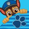Magický ručníček Tlapková patrola Chase 30x30 cm
