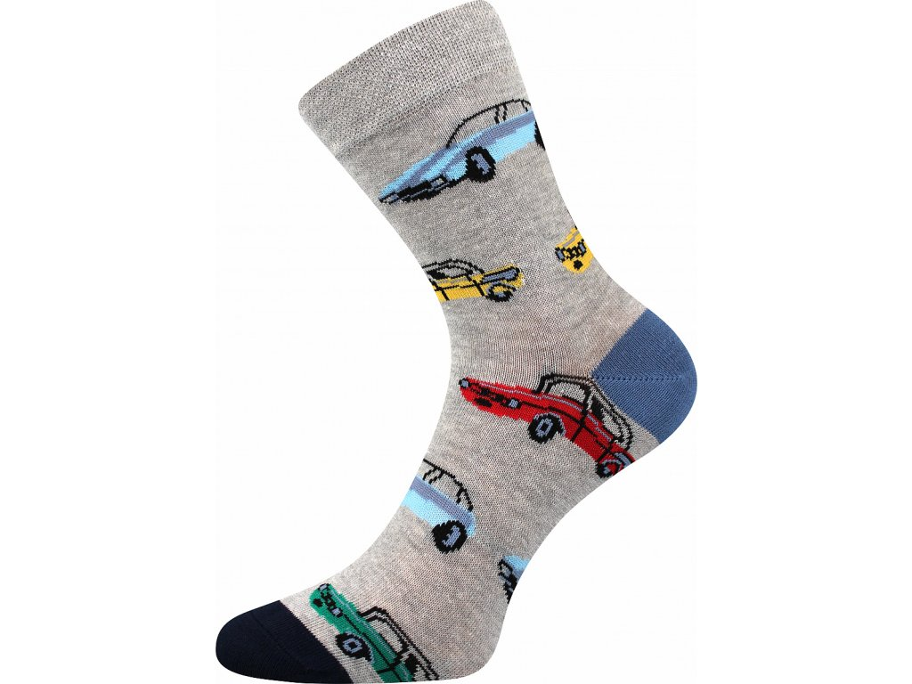 ponozky auta vesele obrazkove vtipne superfit store