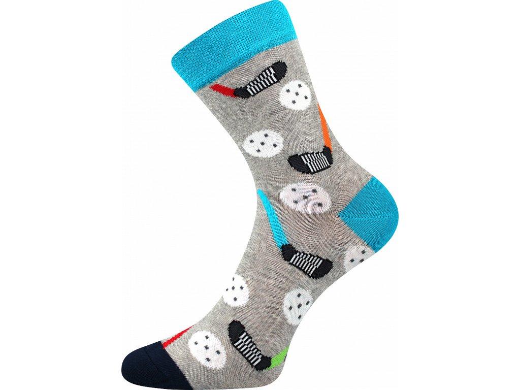 ponozky florbal vesele obrazkove vtipne superfit store